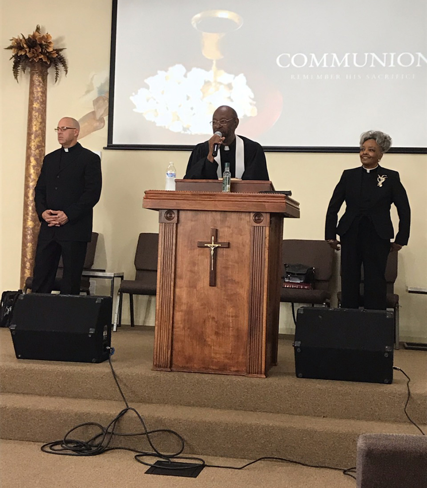 James E. Parks, Sr, West Fresno Christian Center